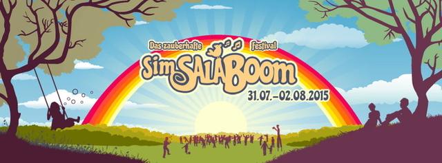 Party Flyer SimSalaBoom Festival 2015 31 Jul '15, 16:00