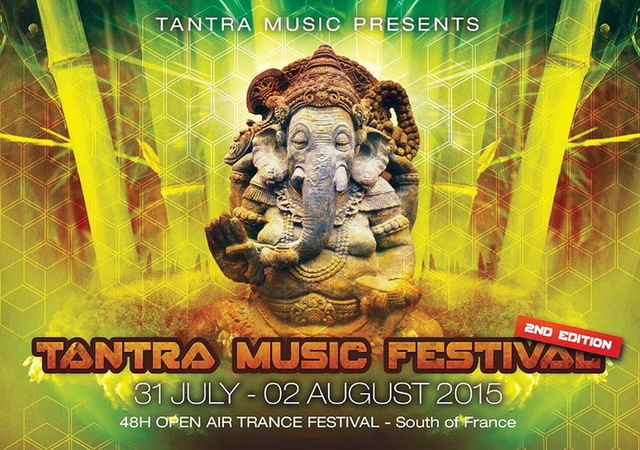 Party Flyer TANTRA MUSIC FESTIVAL - 48H OPEN AIR - 31 Jul '15, 18:00