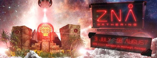 Party Flyer Zna Gathering 31 Jul '15, 12:00