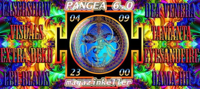 Party Flyer PANGEA 6.0 4 Sep '15, 23:00