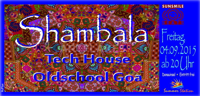Party Flyer SHAMBALA 4 Sep '15, 20:00