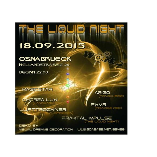 The Liquid Night 18 Sep '15, 22:00