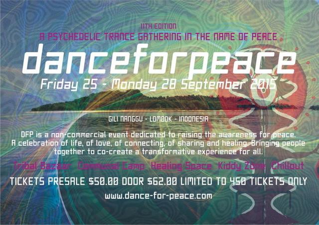 DanceForPeace-11th Edition 25 Sep '15, 07:00