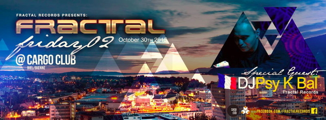 Party Flyer Fractal Friday 2.0 30 Oct '15, 22:00