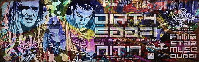 RAVELATIONS feat. DIRTY SAFFI (Bom Shanka Music, UK) & NITIN 19 Nov '15, 22:00