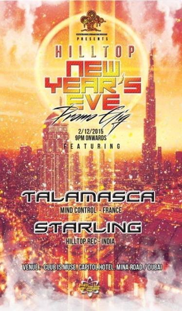 RAVELATIONS feat. TALAMASCA (Dacru Records,France) & STARLING 2 Dec '15, 21:00
