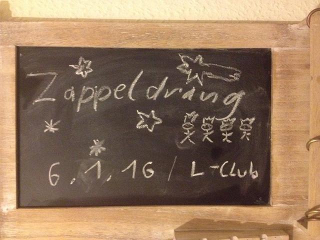 Party Flyer Zappeldrang! - Die Sternsinger kommen 6 Jan '16, 22:00