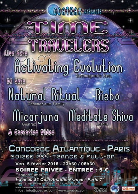 THE TIME TRAVELERS 5 Feb '16, 23:30
