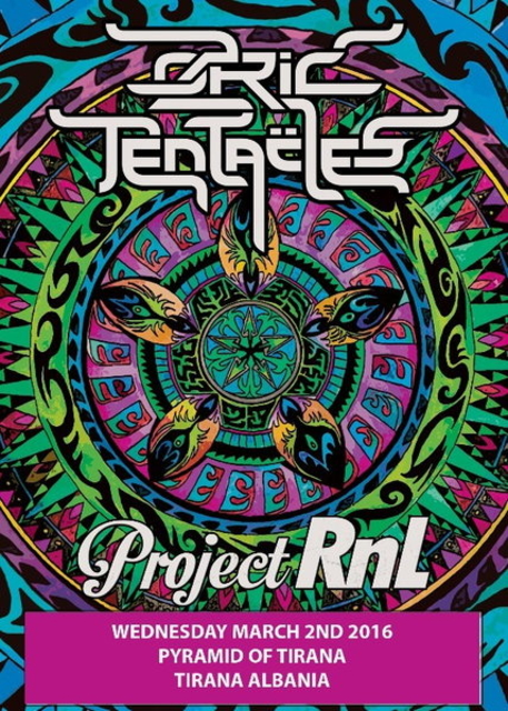 Party Flyer OZRIC TENTACLES + PROJECT RNL 2 Mar '16, 19:30