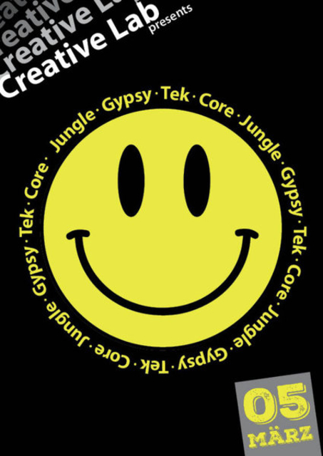 Creative Lab Presents: JungleGypsyTekCore 5 Mar '16, 23:30