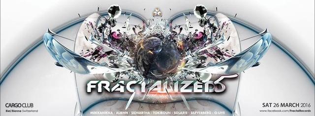 Party Flyer FractaliZed5 26 Mar '16, 22:00