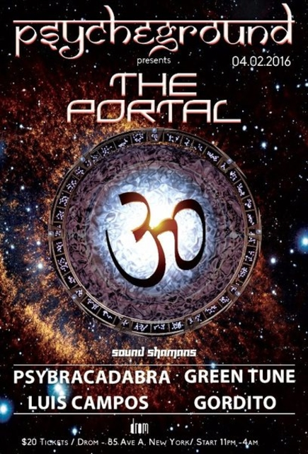 Party Flyer PsYcHeGrOuND presents: The Portal 2 Apr '16, 22:30