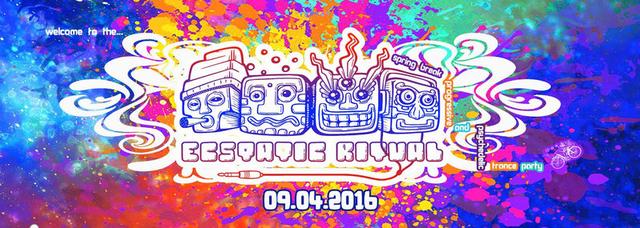 Party Flyer Ecstatic Ritual // Spring Break Ritual 2016 ! 9 Apr '16, 23:00
