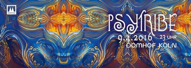 Party Flyer PSY TRIBE mit HATIKWA, DJOANNA uvm. 9 Apr '16, 23:00