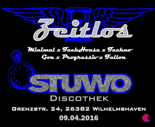Party Flyer Zeitlos Phase 2 9 Apr '16, 23:00