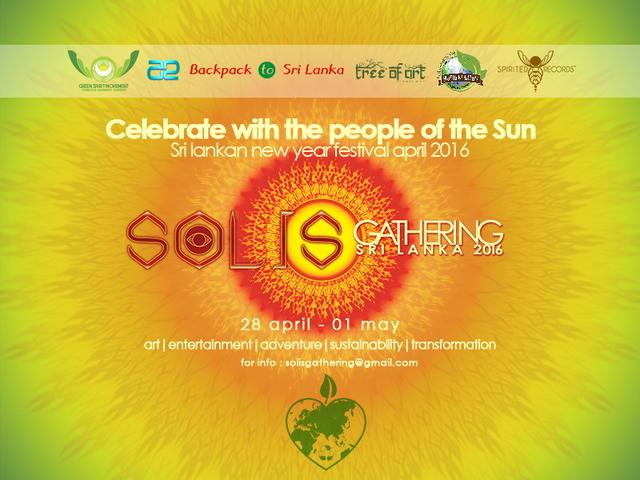 Party Flyer Solis Gathering : Sri Lanka 2016 28 Apr '16, 06:00