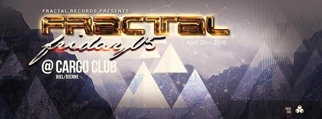 Party Flyer Fractal Friday 05 29 Apr '16, 22:00