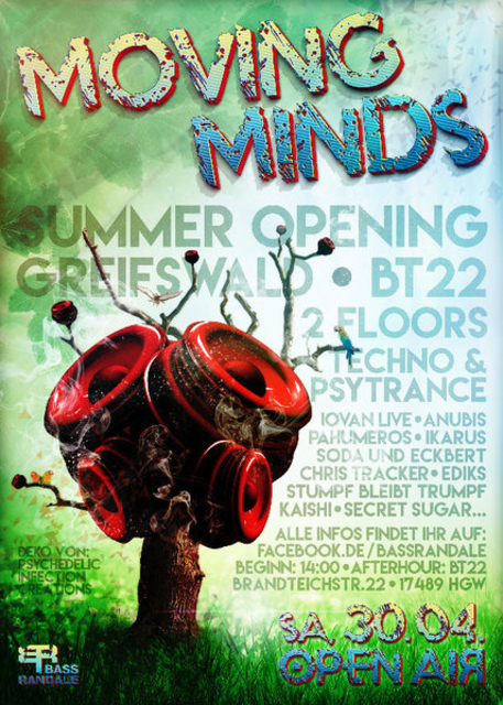 """Moving Minds Open Air """"Greifswald Summer Opening"""" 30 Apr '16, 14:00"""