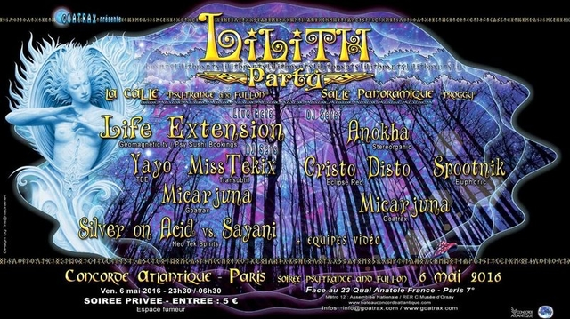 LILITH PARTY 6 May '16, 23:30