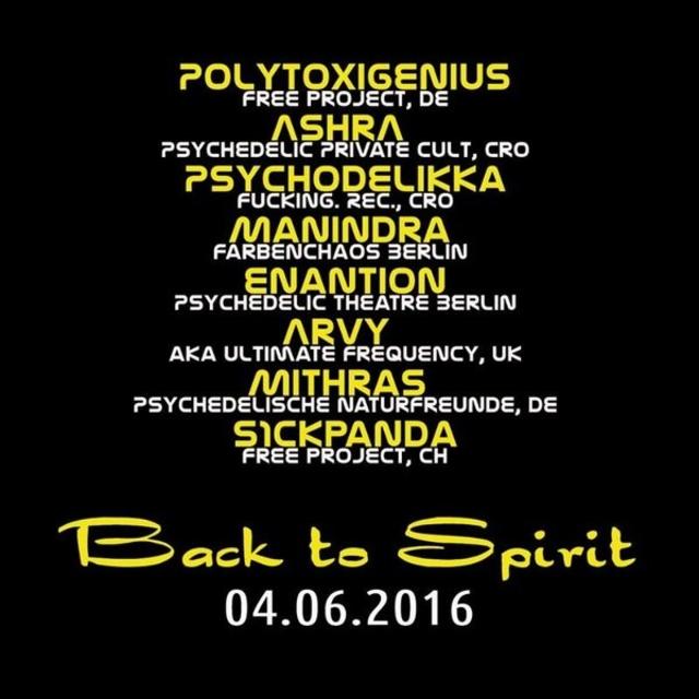 Party Flyer Back to Spirit 4 Jun '16, 22:00