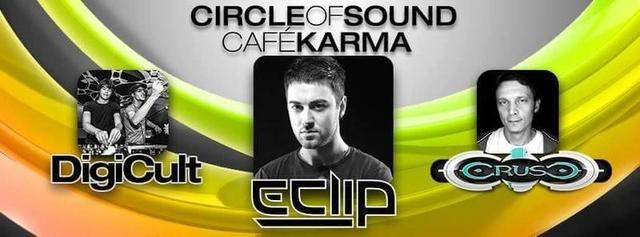 Party Flyer Circle of Sound meets Café Karma 4 Jun '16, 22:00