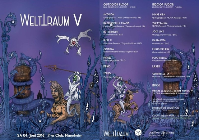 Party Flyer WeltTraum V 4 Jun '16, 23:00