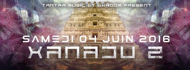 Party Flyer XANADU #2 4 Jun '16, 20:00
