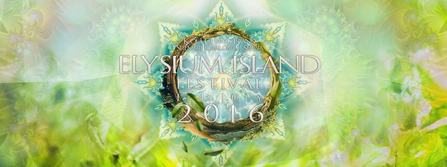 Party Flyer ⌘ ELYSIUM ISLAND FESTIVAL 2016 ⌘ 1 Jul '16, 20:00