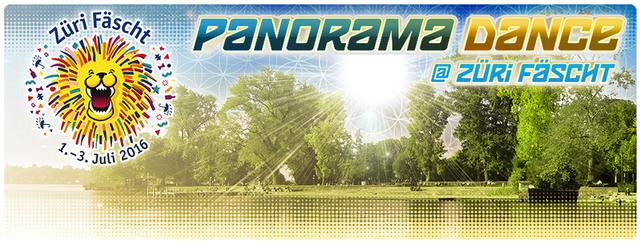 Party Flyer Panorama Dance Züri Fäscht Gratis Eintritt 1 Jul '16, 17:00