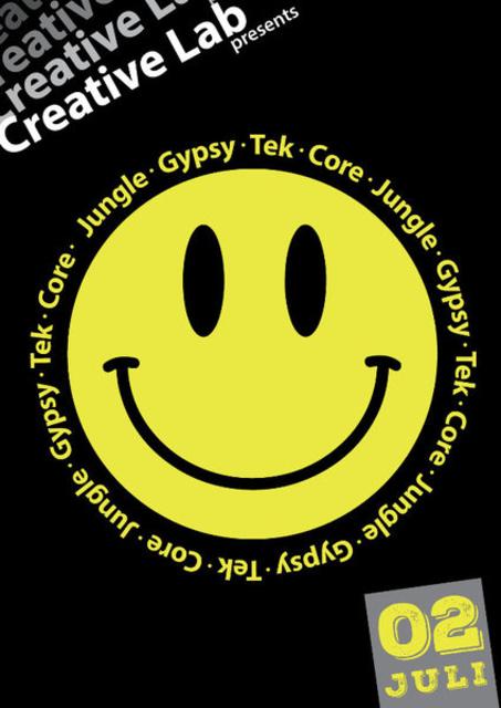 Creative Lab Presents: JungleGypsyTekCore 2 Jul '16, 23:30