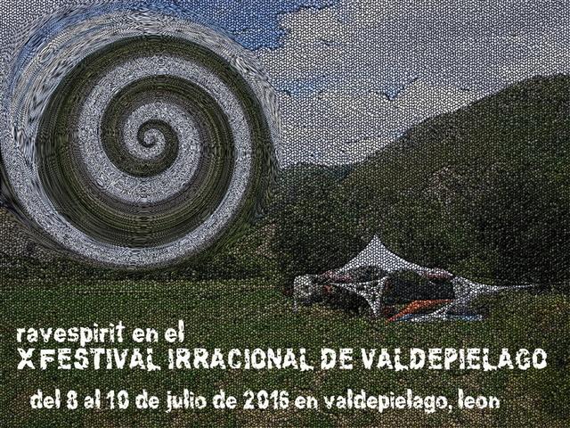 Party Flyer Ravespirit FIV X 8 Jul '16, 22:00