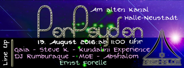 Party Flyer ॐ PerPSYden ॐ [psyched. Sternschnuppennacht] ॐ Gaia ॐKundalini Experienceॐ MoE 13 Aug '16, 11:00