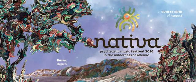 Party Flyer Nativa Festival 25 Aug '16, 10:00