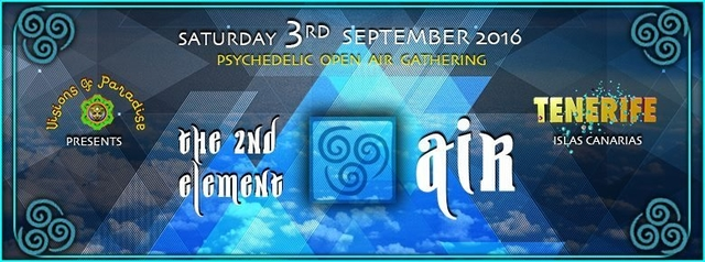 Party Flyer >> The Second Element - Air << 3 Sep '16, 22:00