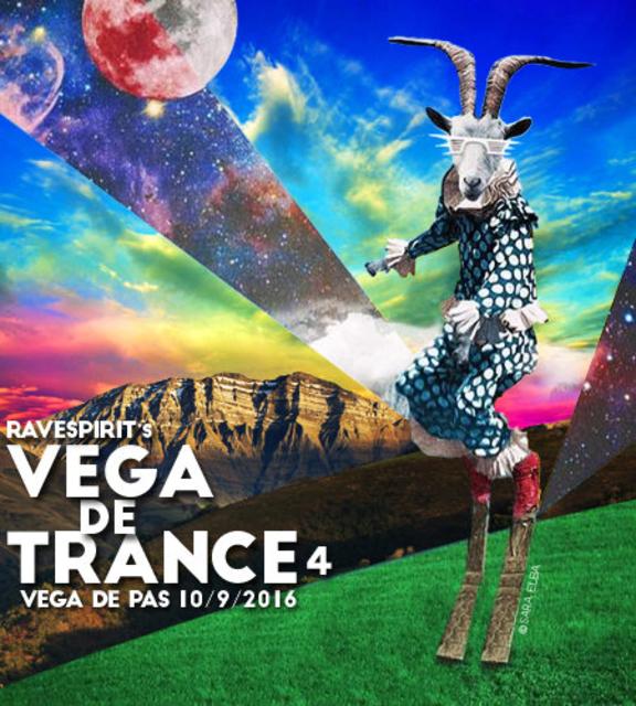 Party Flyer ravespirit vega de trance 10 Sep '16, 22:00