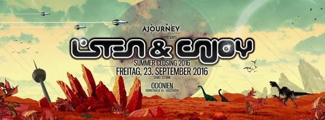 ►Listen & Enjoy - Summer Closing 2016◄ pres. by Ajourney Prod. 23 Sep '16, 20:00