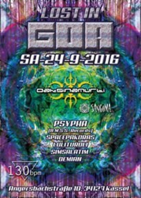 LOST IN GOA 24 Sep '16, 22:00