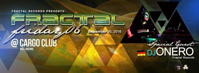 Party Flyer Fractal Friday 06 30 Sep '16, 22:00