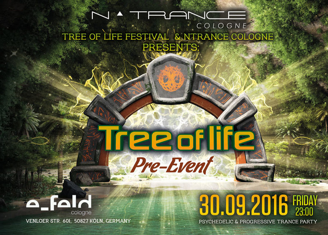 Party Flyer TREE OF LIFE PRE-EVENT 30 Sep '16, 23:00