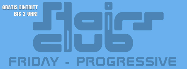Party Flyer Progressive Grooves 7 Oct '16, 23:30