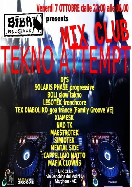 Party Flyer VADO A VIVERE SULLA LUNA TEKNOGOA PARTY 7 Oct '16, 22:00