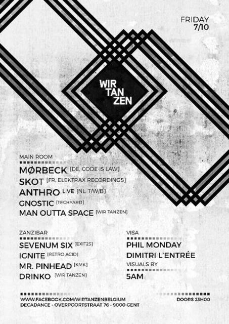 Party Flyer Wir Tanzen 7 Oct '16, 23:00