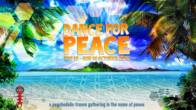 Dance For Peace - 2016/12 Edition. 13 Oct '16, 08:30