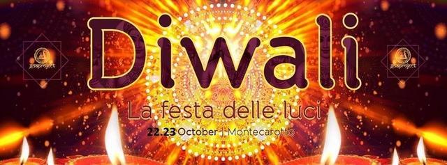 Party Flyer DIWALI (La Festa delle Luci) 22 Oct '16, 18:00