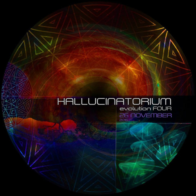 Party Flyer Hallucinatorium Evolution 4 26 Nov '16, 23:00