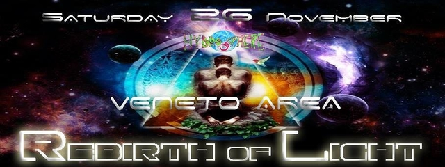 Party Flyer Rebirth of Light 26 Nov '16, 23:00