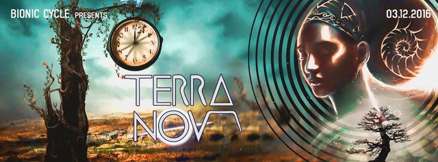 Party Flyer Terra Nova 3 Dec '16, 22:00