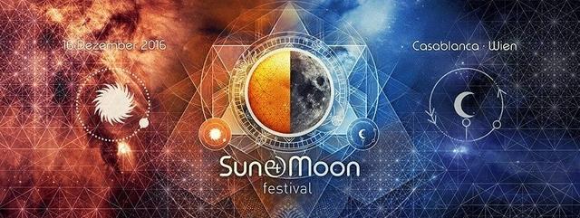 Party Flyer SUN & MOON Festival 16 Dec '16, 22:00
