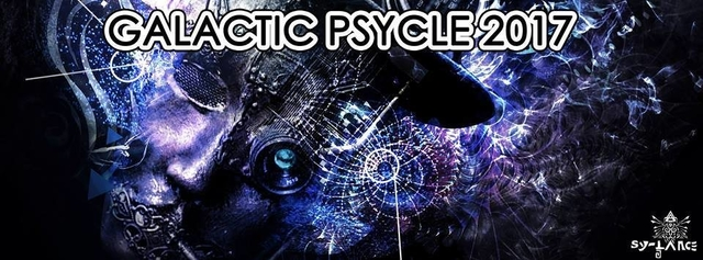 Party Flyer Galactic Psycle 2017 31 Dec '16, 23:00