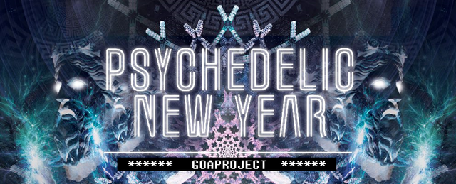 Party Flyer PSYCHEDELIC NEW YEAR 31 Dec '16, 18:30